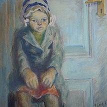 1_Olja_flyktingflicka_1945