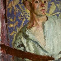 1_Olja_sjalvportratt_1945