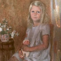 Olja_portratt_Gisela_1963