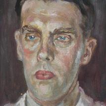 Olja_portratt_finskman_1944